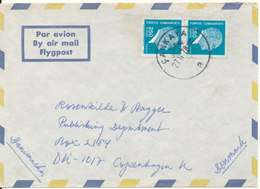 Turkey Air Mail Cover Sent To Denmark 27-11-1978 - 1921-... Republic