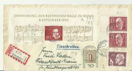 BDR CV 1959 Musik - [7] Federal Republic