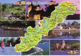 24 DORDOGNE - Landkarten