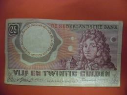 Billet PAYS BAS 25 GULDEN HUYGENS Du 10 Avril 1955 En TTB - [2] 1815-… : Reino De Países Bajos