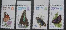 Hong Kong 1979 Butterfly Set MNH - Hong Kong (...-1997)