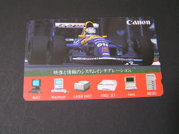 JAPAN Phonecards  RALLY   F-1 . - Automobili