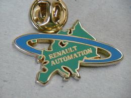 Pin's - RENAULT AUTOMATISATION - Renault