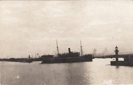 WARNA - Hafen, Gel.1925, 2 Marken, Transportspuren - Bulgarien