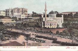 CONSTANTINOPEL -Revue De L'armee Au Serei De Yildiz, 1905?, Gute Erhaltung - Türkei