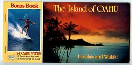 United States Modern Postcard Album Oahu, Hawaii - Oahu