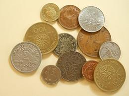 Lot 12 World Coins - Mezclas - Monedas
