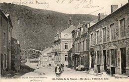 CPA - Environs De FUMAY (08) HAYBES - Aspect Du Quartier De L'Hôtel De Ville Et Du Café Renard En 1903 - France