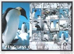 British Antarctic Territory 2003 Penguins Of The Antarctic (1st Series) Sheet MNH CV £22.80 - Unclassified