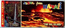 United States Modern Postcard Album Aloha From Hawaii, The Big Island - Big Island Of Hawaii