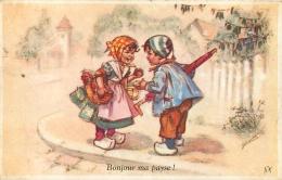 GERMAINE BOURET  EDITION SEPHERIADES N°17 BONJOUR MA PAYSE - Bouret, Germaine