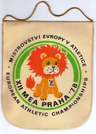 Athletics / European Athletic Championships / XII MEA PRAHA '78 / Flag, Pennant / Sport - Athletics