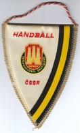 Handball / Czechoslovakia / Slovnaft International Bratislava / Flag, Pennant / Sport - Handball