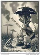 Mecki - ...und Warte Auf Dich! - Nr. 17 - Frosch - Regenschirm - Mecki