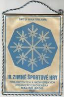 IV. Winter Sports Games / Czechoslovakia / Malino Brdo 1975 / Flag, Pennant / Sport - Winter Sports