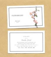 Carte Parfumée Perfume Card FLORABELLIO * DIPTYQUE * R/V - Modern (from 1961)