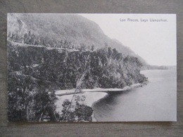 Tarjeta Postal - Chile Chili - Los Riscos - Lago Llanquihue - Editor R. Wiederhold Valdivia No. 82 - Chili