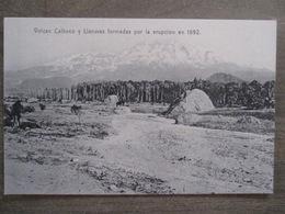 Tarjeta Postal - Chile Chili - Volcan Calbuco Y Llanuras Por La Erupción En 1892 - Editor R. Wiederhold Valdivia No. 83 - Chili