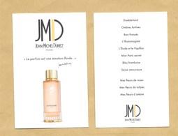 Carte Parfumée Parfume Card JEAN MICHEL DURIEZ * R/V - Modern (from 1961)