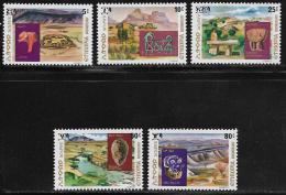 Ethiopia, Scott # 822-6 MNH Archaeological Sites, 1977 - Ethiopia