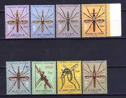 Portugal Colonies Omnibus (1962) Fight Against Malaria Full Set OG MNH** - Colonias Portuguesas Y Dependencias - Sin Clasificación