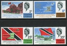 Trinidad And Tobago Set Of Stamps To Celebrate The Royal Visit Of 1966. - Trinidad & Tobago (1962-...)
