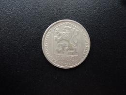 TCHÉCOSLOVAQUIE : 50 HALERU  1988     KM 89     TTB - Czechoslovakia