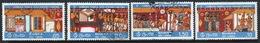 Sri Lanka Set Of Stamps To Celebrate Temple Paintings From 1976. - Sri Lanka (Ceylon) (1948-...)