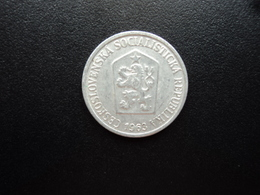 TCHÉCOSLOVAQUIE : 10 HALERU  1963    KM 49.1      SUP - Czechoslovakia