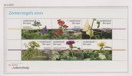 Netherlands Nederland Pays Bas Niederlande Holanda 1973 Sheet MNH Bloemen, Blumen, Flores, Fleurs, Flowers 2001 - Sin Clasificación
