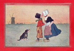 ILLUSTRATEURS NON SIGNES - CPA MOULIN TYPE HOLLANDAIS - 1900-1949