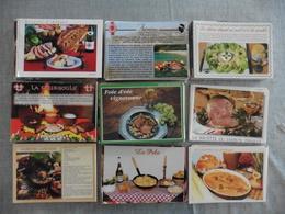 LOT DE 790 CARTES POSTALES  DE  RECETTES  DE CUISINES - Cartoline