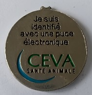 Jeton De Caddie - CEVA - Santé Animale - En Métal - - Trolley Token/Shopping Trolley Chip