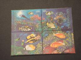 MICRONESIA - 1995 FAUNA MARINA  5 VALORI - NUOVO(++) - Micronesia