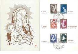België     O.B.C.  Macrofili.  1198 / 1203  Moeder En Kind    Gent - Fiscaux