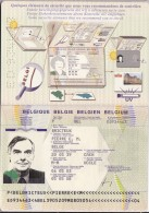 Passeport Royaume De Belgique - Vieux Papiers