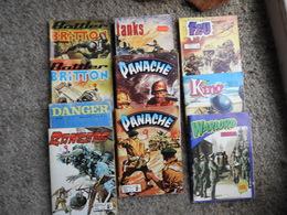 """Lot De BD """"pocket"""" Thème Guerre 1940-1945 - Bücher, Zeitschriften, Comics"""