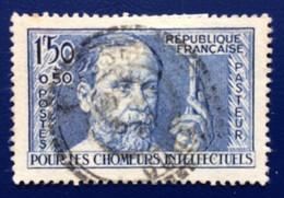 FRANCE 1936, YT 333 USED, Pasteur - Ongebruikt