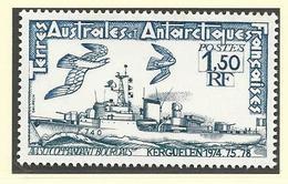 "T.A.A.F. 1979  Poste N° 80 ""Navires-Avisos"" ** - Terre Australi E Antartiche Francesi (TAAF)"