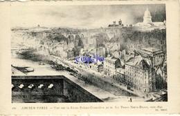 75 - Ancien Paris - Vue Sur La Butte Sainte-Geneviève Prise Des Tours Notre-Dame, Vers 1840 - France