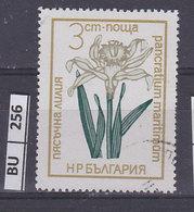 BULGARIA   1972fiori  3 St Usato - Gebraucht