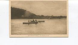 CPA -  Le Goulet (Eure) - Le Nouveau Passage - Animée -  Circulée - - Sonstige Gemeinden