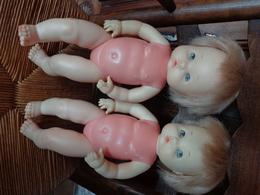 Lot De 2 Poupees FAMOSA Made Spain -hauteur 38 Cm Environ - Dolls