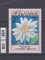 BULGARIA   1973fiori 2 St Usato - Gebraucht