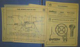 Planches D'Instructions Pour Retroprojecteur-FM Chauchat-France 40 - Documents