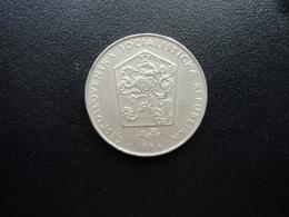 TCHÈCOSLOVAQUIE  : 2 KORUNY  1984    KM 75     SUP - Czechoslovakia