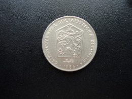 TCHÈCOSLOVAQUIE  : 2 KORUNY  1986    KM 75     SUP - Czechoslovakia