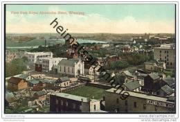 Winnipeg - View From Royal Alexandra Hotel - Winnipeg