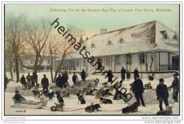 Lower Fort Garry - Delivering Fur For The Hudson Bay Coy - Manitoba