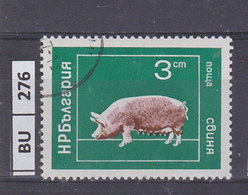 BULGARIA   1974animali Domestici 3 St Usato - Gebraucht